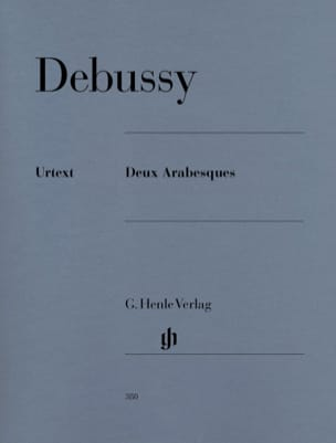 DEBUSSY - 2 Arabesques - Sheet Music - di-arezzo.co.uk