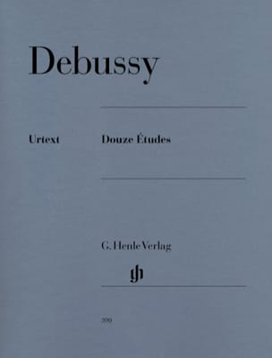 DEBUSSY - 12 Studies - Sheet Music - di-arezzo.co.uk