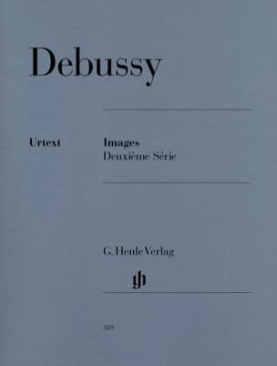 DEBUSSY - Images, 2nd Series - Sheet Music - di-arezzo.co.uk