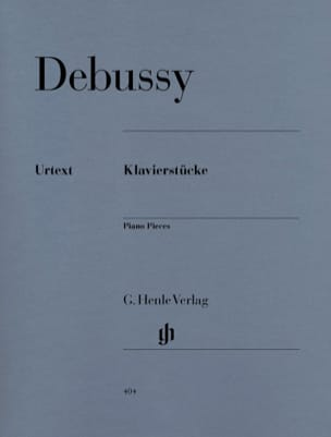 DEBUSSY - Klavierstücke - Sheet Music - di-arezzo.co.uk