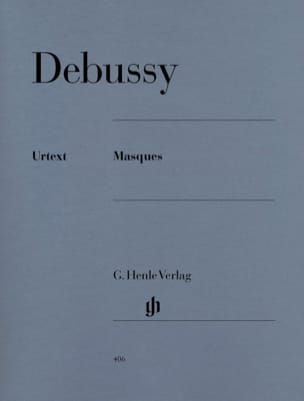 Masques DEBUSSY Partition Piano - laflutedepan