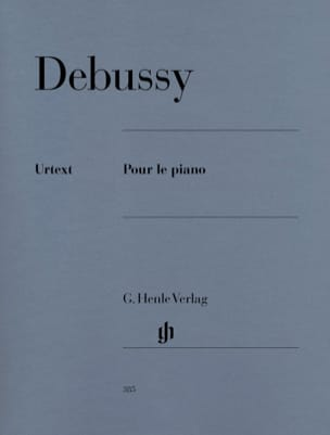 DEBUSSY - For the Piano - Sheet Music - di-arezzo.com