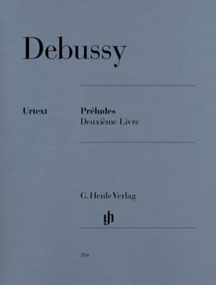 DEBUSSY - Preludes. 2nd Book - Sheet Music - di-arezzo.com