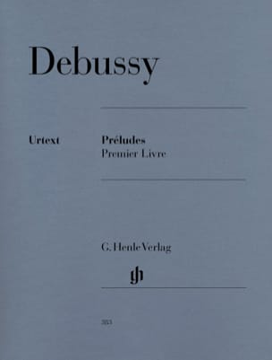 DEBUSSY - Preludes. 1st Book - Sheet Music - di-arezzo.co.uk