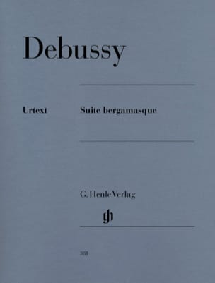 DEBUSSY - Bergamasque Suite - Sheet Music - di-arezzo.co.uk