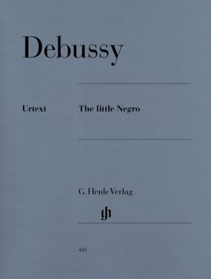 DEBUSSY - The Little Negro - Sheet Music - di-arezzo.co.uk