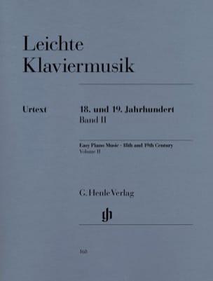 - Leichte Klaviermusik Aus 2 Jahrhunderten Volume 2 - Partition - di-arezzo.fr