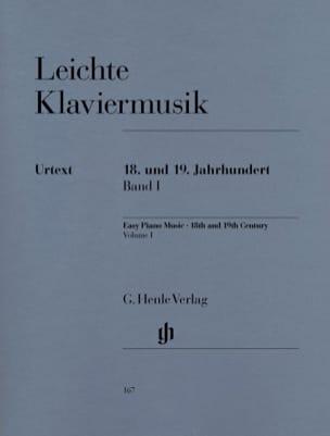 - Leichte Klaviermusik Aus 2 Jahrhunderten Volume 1 - Partition - di-arezzo.fr