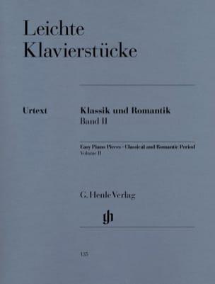 - Leichte Klavierstücke des Klassischen Und Romantischen Zeitalters. Vol 2 - Partition - di-arezzo.fr