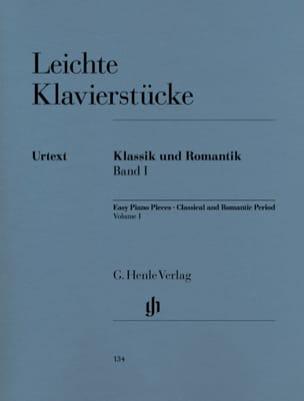 Leichte Klavierstücke des Klassischen Und Romantischen Zeitalters. Volume 1 laflutedepan