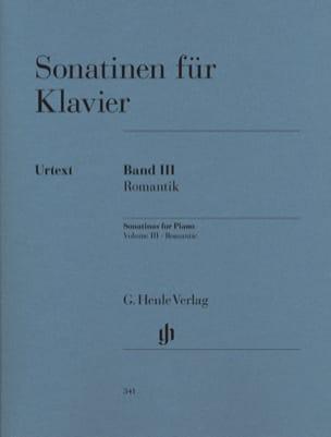 - Sonatines Volume 3 - Partition - di-arezzo.fr