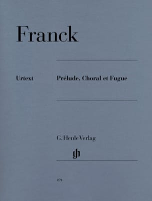 César Franck - Prelude, Choral and Fugue Opus 21 - Sheet Music - di-arezzo.com