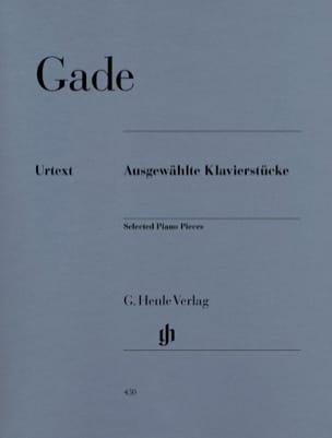 Niels Gade - Ausgewählte Klavierstücke - Partitura - di-arezzo.es