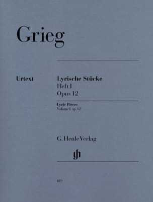 Edward Grieg - Lyrische Stücke Heft 1 Opus 12 - Sheet Music - di-arezzo.co.uk