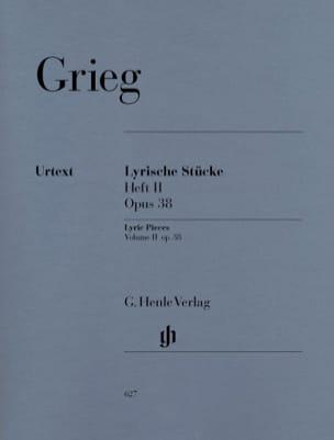 Edward Grieg - Lyrische Stücke Heft 2 Opus 38 - Partition - di-arezzo.fr