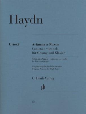 Joseph Haydn - Arianna a Naxos Hob. XXVIb:2 - Partition - di-arezzo.fr