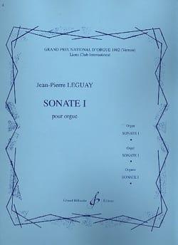 Sonate 1 - Jean-Pierre Leguay - Partition - Orgue - laflutedepan.com
