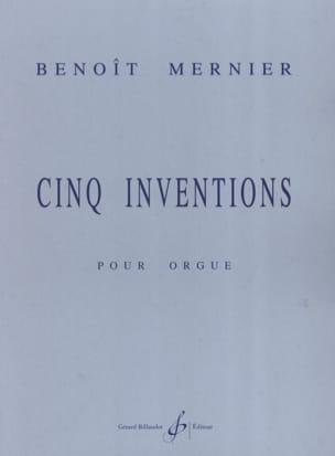 Benoit Mernier - 5 Inventions - Partition - di-arezzo.fr