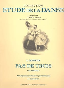 Pas de 3. Paquita Ludwig Minkus Partition Piano - laflutedepan