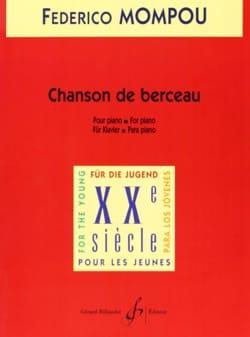 Chanson De Berceau Federico Mompou Partition Piano - laflutedepan