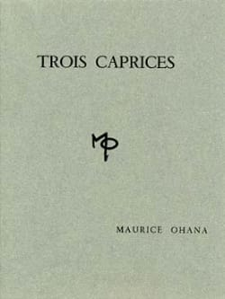 Maurice Ohana - 3 Caprices - Sheet Music - di-arezzo.co.uk