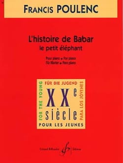 Francis Poulenc - The Little Elephant Extract from The Story of Babar - Sheet Music - di-arezzo.co.uk