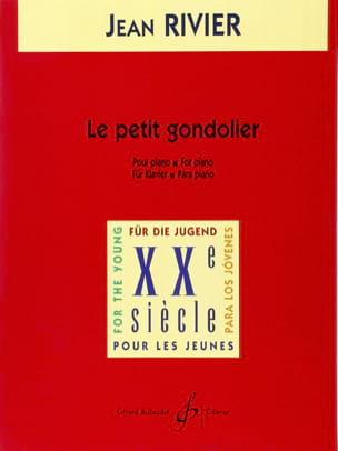 Le Petit Gondolier - Jean Rivier - Partition - laflutedepan.com
