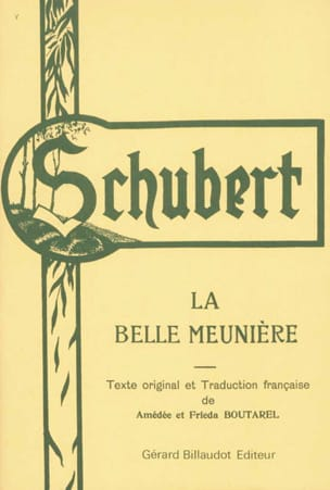 La Belle Meunière - SCHUBERT - Partition - Mélodies - laflutedepan.com