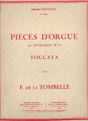Fernand de la Tombelle - Toccata Op. 23 - Partition - di-arezzo.fr