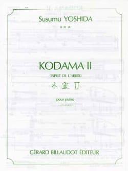 Susumu Yoshida - Kodama 2 (Esprit de L'arbre) - Partition - di-arezzo.fr