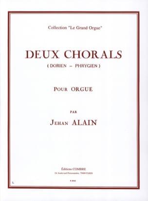 Jehan Alain - 2 Dorian-Phrygian Chorales - Sheet Music - di-arezzo.co.uk