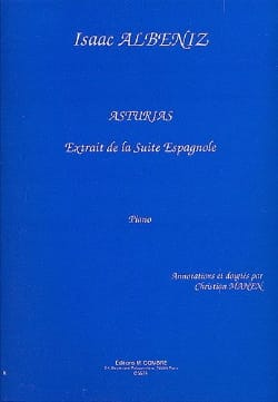 Isaac Albeniz - Asturias. - Sheet Music - di-arezzo.co.uk