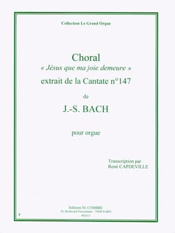 BACH - Choral of the Cantata 147. Organ - Sheet Music - di-arezzo.co.uk