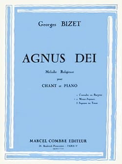BIZET - Agnus Dei. Mean Voice - Sheet Music - di-arezzo.co.uk