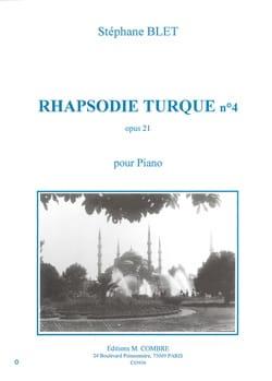 Rhapsodie Turque N°4 Op. 21 - Stéphane Blet - laflutedepan.com