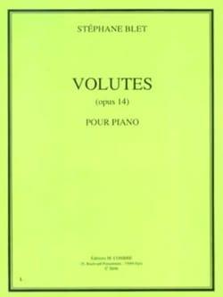 Volutes Opus 14 Stéphane Blet Partition Piano - laflutedepan