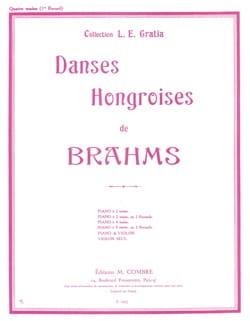 Danses Hongroises Volume 1. 4 Mains - BRAHMS - laflutedepan.com