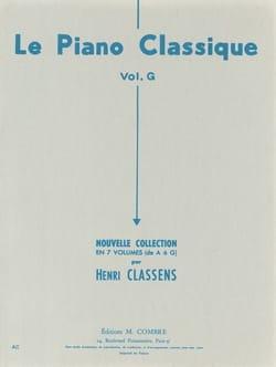 Le Piano Classique. Volume G - Henri Classens - laflutedepan.com