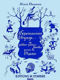 Henri Classens - Népomucène Voyage - Partition - di-arezzo.fr