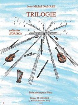 Trilogie - Jean-Michel Damase - Partition - Piano - laflutedepan.com