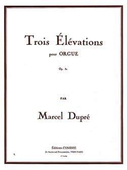 Marcel Dupré - 3 Elevations Opus 32 - Sheet Music - di-arezzo.co.uk