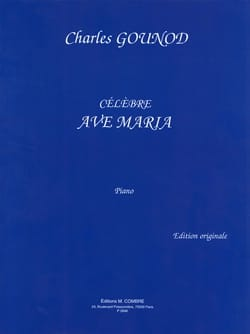 Ave Maria. Piano GOUNOD Partition Piano - laflutedepan