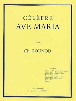 Ave Maria N°1 Ter. Contralto Ou Baryton. Charles Gounod laflutedepan