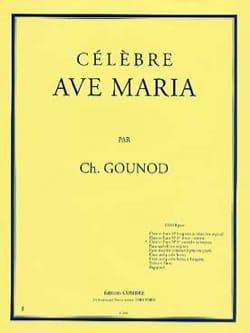 Charles Gounod - Ave Maria N°1 Ter. Contralto Ou Baryton. - Partition - di-arezzo.fr