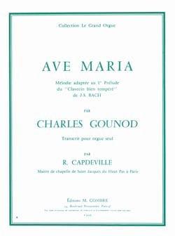 Ave Maria - Charles Gounod - Partition - Orgue - laflutedepan.com