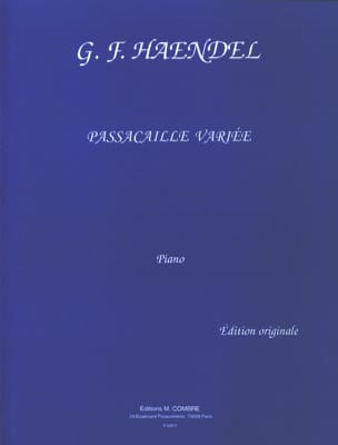 HAENDEL - Passacaille Varied Suite HWV 432 - Partitura - di-arezzo.es