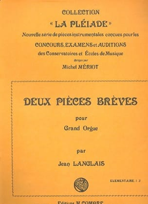 Jean Langlais - 2 Pieces Short Op. 220 - Sheet Music - di-arezzo.co.uk