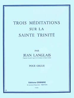 3 Méditations sur la Sainte Trinité Opus 129 - laflutedepan.com