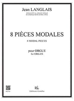 8 Pièces Modales Opus 90 - Jean Langlais - laflutedepan.com