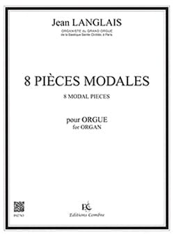 Jean Langlais - 8 piezas Modals Opus 90 - Partitura - di-arezzo.es